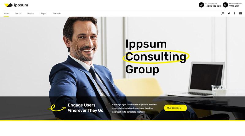 Ippsum WordPress Theme