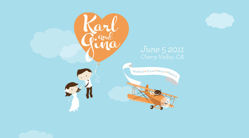 Karl & Gina are getting married!