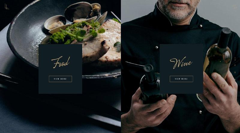 Laurent Seafood Restaurant Theme