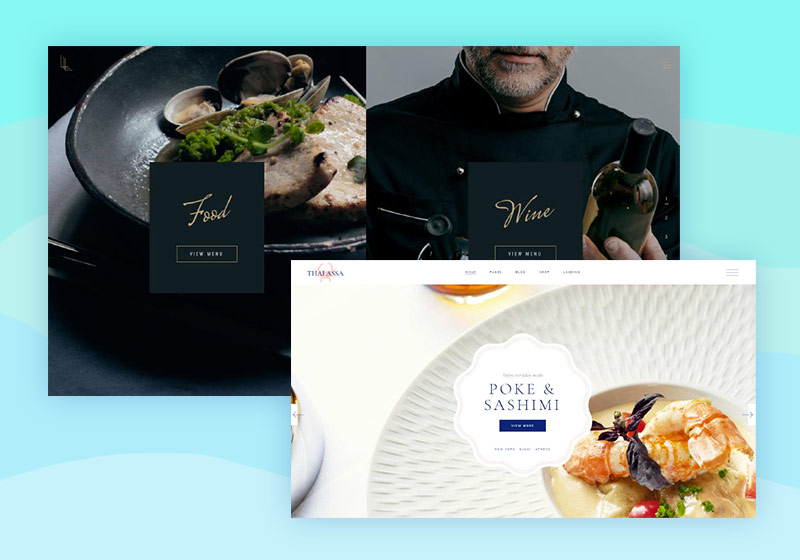Most Delicious Seafood Restaurant WordPress Themes