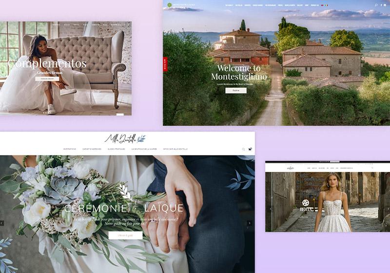 Most Inspiring Wedding Website Examples
