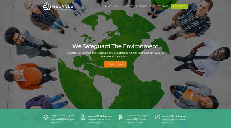 Recycle WordPress Theme