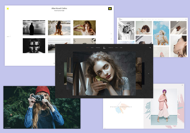 Top Professional Photography Website Templates