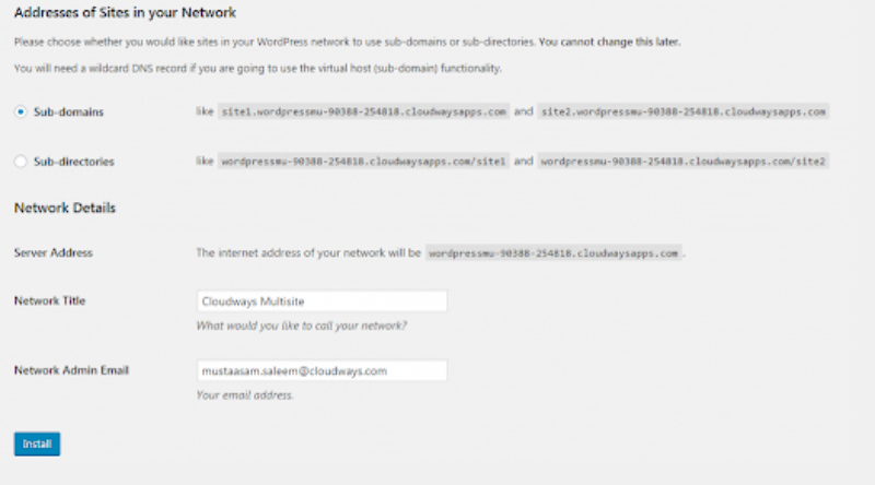 Add Domains to DNS