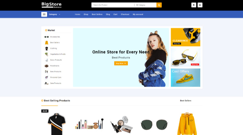5+ Best Free Fashion Store WordPress Themes Worth Having 1