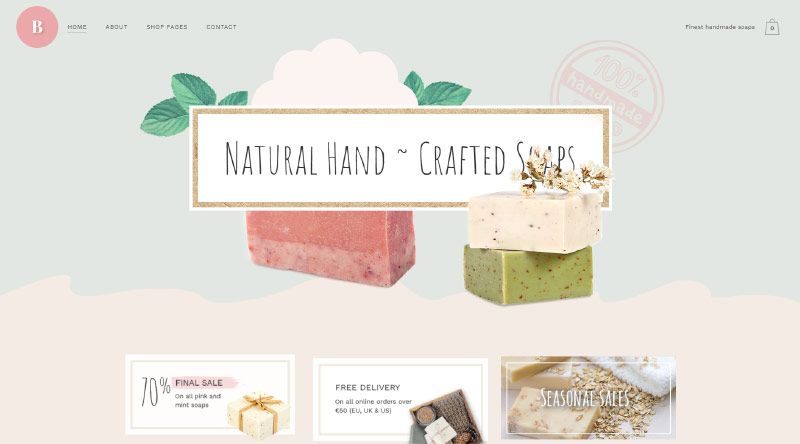 Bridge Soap WordPress Themes