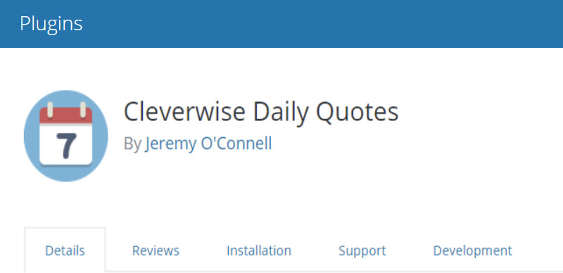 Cleverwise Daily Quotes