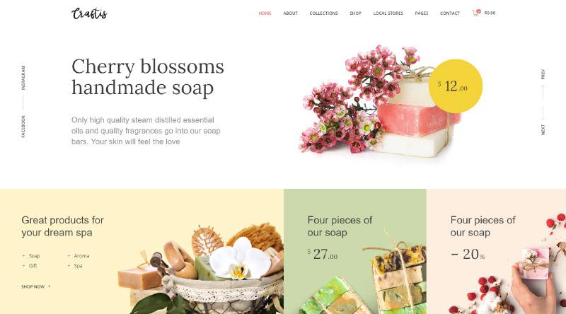 Craftis WordPress Themes
