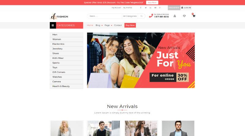 Fashion Estore WordPress Theme