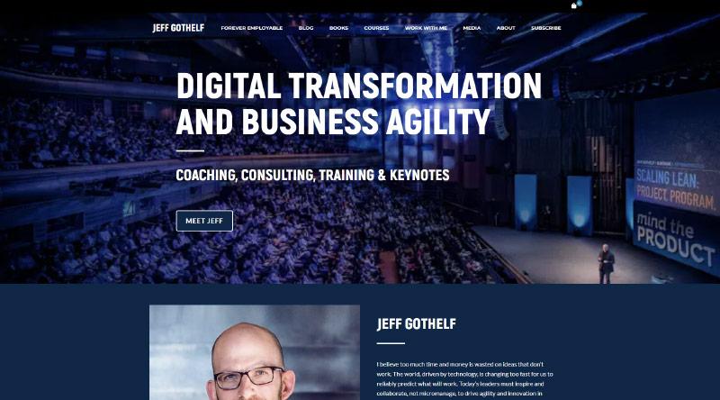 Jeff Gothelf – Business Consultant