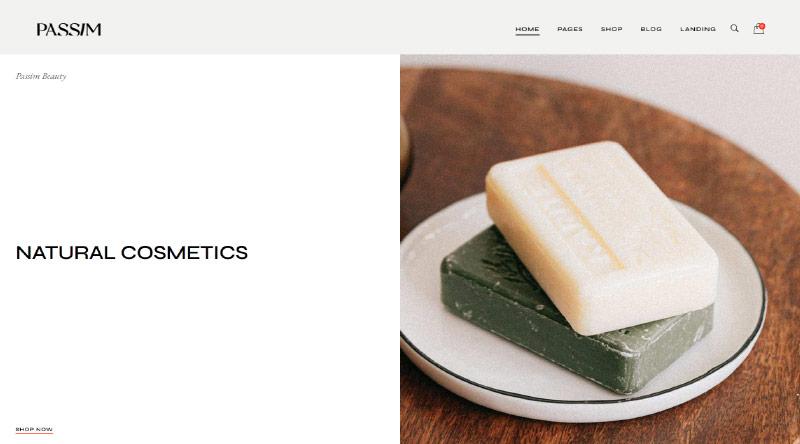 Passim Soap WordPress Themes