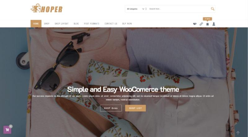 Shoper WordPress Theme