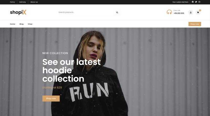 Shopix WordPress Theme