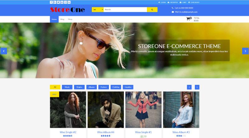 StoreOne WordPress Theme