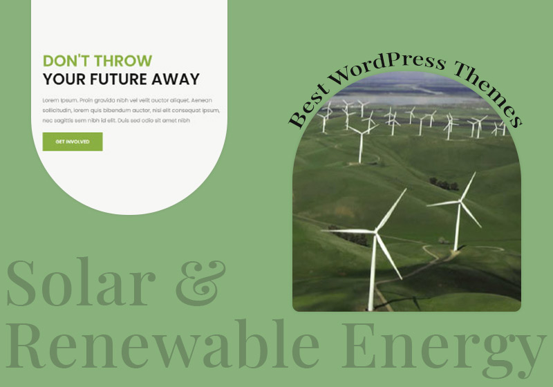 Best Solar and Renewable Energy Wordpress Themes for Cleaner World