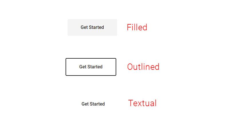 Button CTA layout