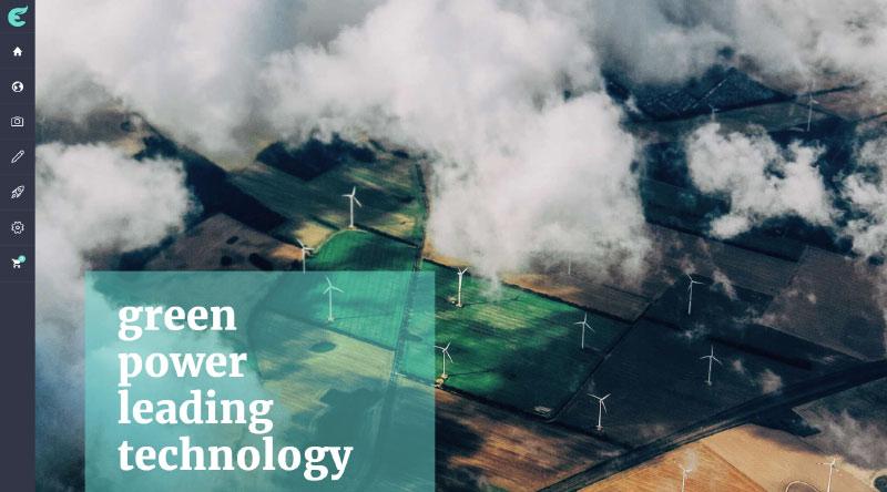 Ecologist Green Energy WordPress Theme