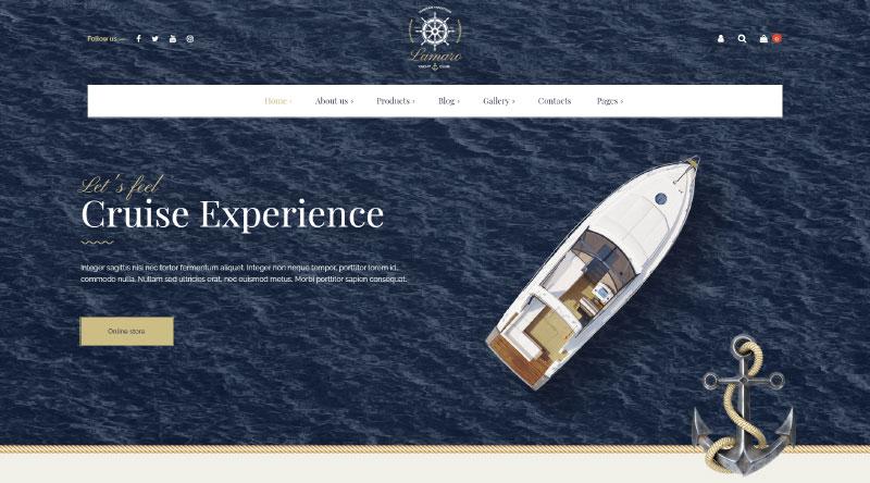 Lamaro WordPress Theme
