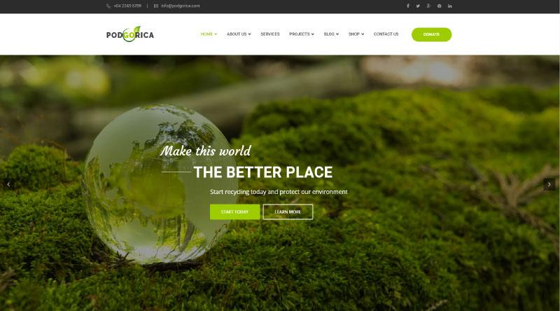 Podgorica WordPress Theme