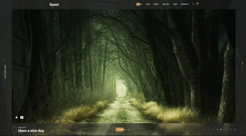 Spool WordPress Theme