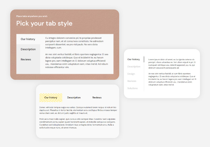 How to Create WordPress Tabs with Qi Addons for Elementor